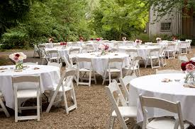 White Garden Chair Rentals