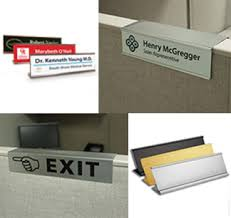 fice Name Plates & Nameplate Holders NapTags