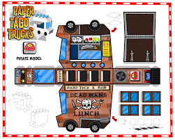 Paper Taco Trucks | Cut & Paste ...Paper Models | Pinterest | Paper ...