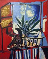 Still Life With Chair Caning Mood by Pablo Picasso 2924 Artworks Art Periods Biography Photo