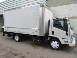 100 16 Ft Box Truck 20 Isuzu NRR DIESEL WITH FT BOX PLUS LIFTGATE