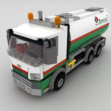 Oil Tanker Lego 3D Model $19 - .obj .3ds .fbx .max - Free3D