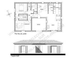 plan de maison en u d architecte conçu autour d un patio d accueil