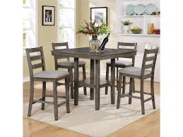 Tahoe 5 Piece Counter Height Table And Chairs Set By Crown Mark At Wilcox  Furniture