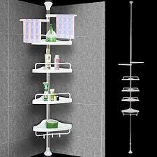 badezimmer regal teleskopstange