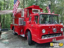 Vintage Fire Engine Food Truck | Mobile Kitchen For Sale In North ...