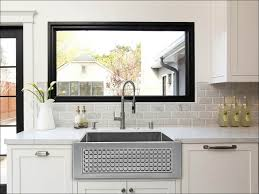 kitchen backsplashes single bowl kitchen sink inch white