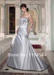 online buy wholesale wedding dresses silver from china wedding