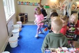 Bean Bag Bucket Toss By Teach Preschool