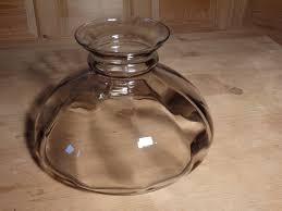 Fenton Fairy Lamp Insert by Glass Lamp Shade Smoke Glass Student Lamp Shade Hurricane Lamp
