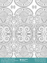 Posh Coloring Books Downloadable Sample Pages