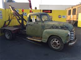 1951 Chevrolet Tow Truck For Sale | ClassicCars.com | CC-889613
