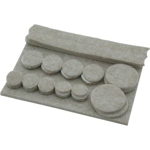 Shepherd Hardware Felt Pads - 25 Pieces