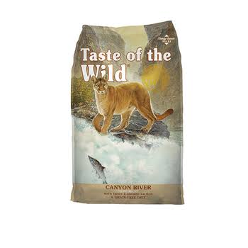 Taste of the Wild Canyon River Grain Dry Cat Food - 14lbs