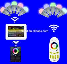2 4g color changing wifi chandelier bulbs 5w rgb led bulb gu10