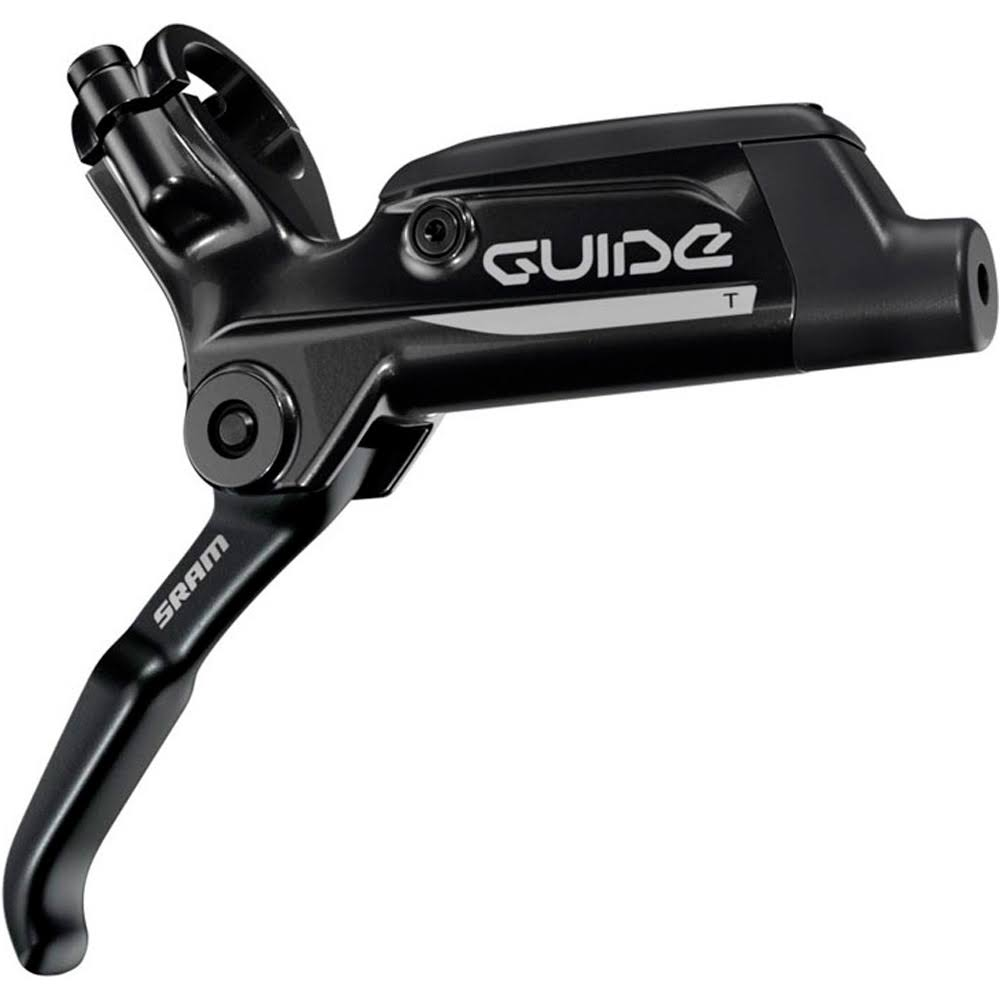 Sram Guide T Rear Hydraulic Disc Brake and Lever - Gloss Black, 1800mm