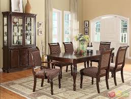 Ortanique Round Glass Dining Room Set by Traditional Dining Room Tables Maduhitambima Com