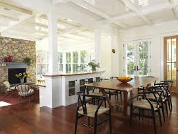 Column Room Divider Dining Traditional With Table Buffets And Sideboards
