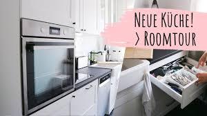 ikea küche in schwarz weiß roomtour 2019 küchentour