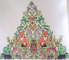 Coloured By Judy Boechler Find This Pin And More On Enchanted Forest Adult Colouring Book