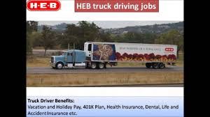 100 Weekend Truck Driving Jobs HEB Truck Driving Jobs YouTube
