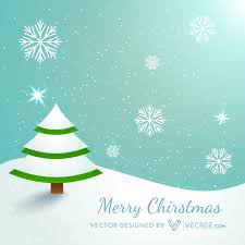 Hand Drawn Decorated Christmas Tree Free Stock Vector 520272