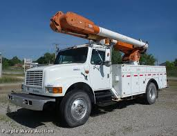 1993 International 4900 Bucket Truck | Item J8614 | SOLD! Ju...