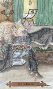cats on deck exle card from the mystical cats tarot deck discover more