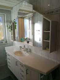waschtisch mit unterbau und spiegelschrank set
