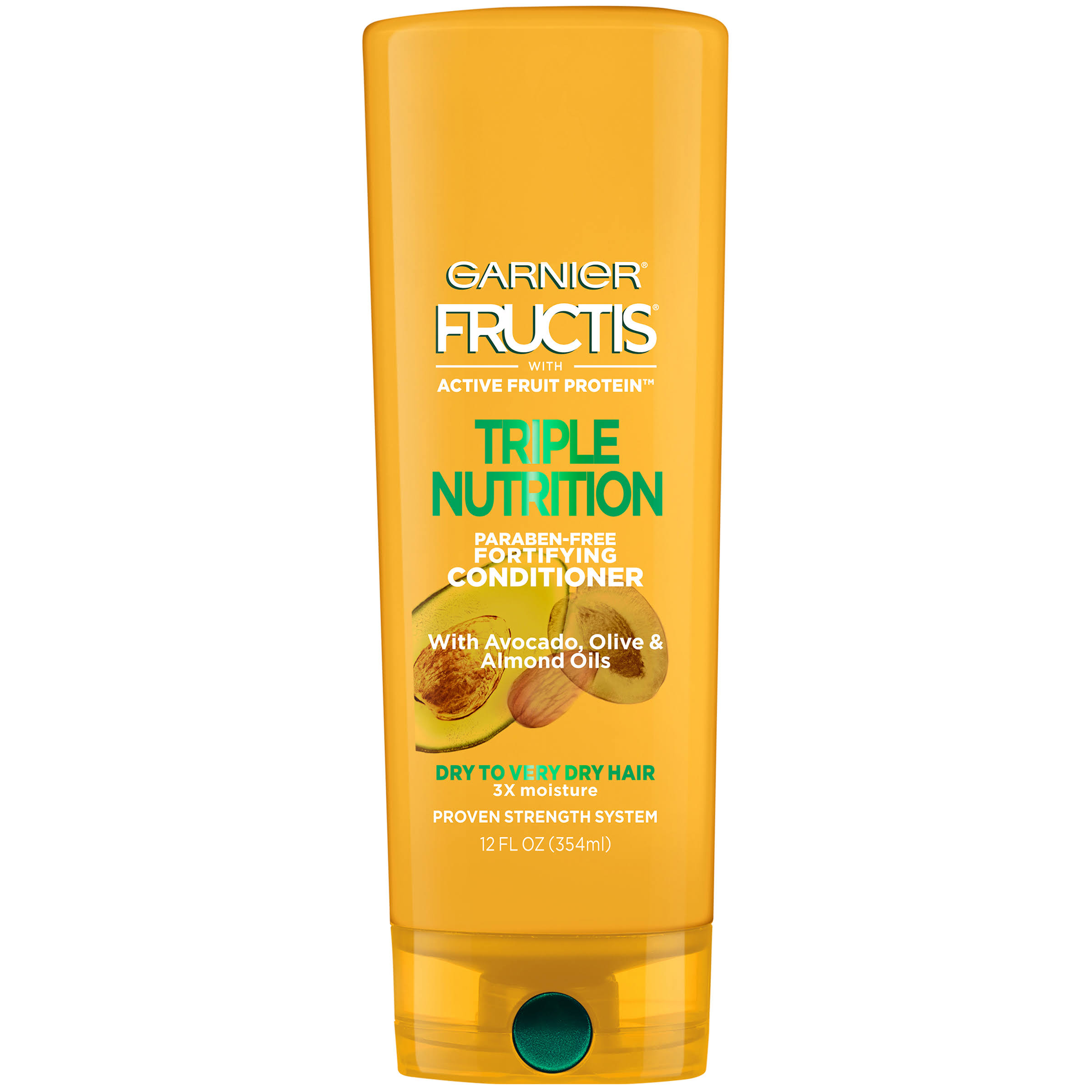 Garnier Fructis Triple Nutrition Conditioner - 354ml