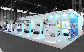 DeVilbiss Exhibition Display Deutsche Bank Stand Domestic Custom Built Stands