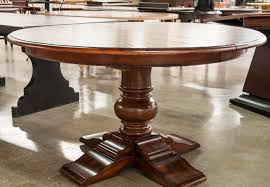 Fantastic Round Pedestal Dining Table Tables Bobreuterstl