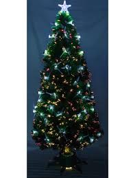 6ft Christmas Tree Fibre Optic by Fibre Optic Decorated Christmas Tree U2013 Decoration Image Idea