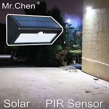 solar waterproof human sensor intelligent buiten verlichting