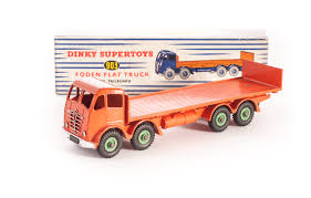 A Dinky Toys 903 Foden Flat Truck With Tailboard, 2nd Type Orange ... Mars Attacks The Miniature Games Flatbed Truck Boutique Philibert En Bruder Toys Mack Granite W Low Loader Jcb New John Deere Big Farm 116 Peterbilt 367 Green With Red Racecar Organitccom Tonka Toy Video For Children N Scale 1954 Ford Parts Trainlifecom Sandi Pointe Virtual Library Of Collections Peterbuilt Semi W Farmall 1206 Diesel Down On Lego 8109 Flatbed Truck In Eccleston Lancashire Gumtree A Shackleton Tinplate Clockwork Model Foden Fg 143 Newray Truck Trailer Collection Black Red Long Haul