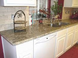 kitchen backsplash santa cecilia granite backsplash ideas santa