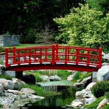 BACKYARD LANDSCAPE DESIGN IDEAS - Part 6 Apartments Appealing Small Garden Bridges Related Keywords Amazoncom Best Choice Products Wooden Bridge 5 Natural Finish Short Post 420ft Treated Pine Amelia Single Rail Coral Coast Willow Creek 6ft Metal Hayneedle Red Cedar Eden 12 Picket Bridge Designs 14ft Double Selection Of Amazing Backyards Gorgeous Backyard Fniture 8ft Wrought Iron Ox Art Company Youll Want For Your Own Home Pond Landscaping Fleagorcom