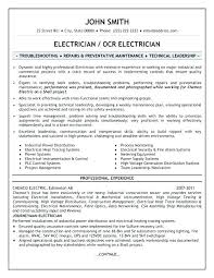 Free Electrician Resume Templates Best Apprentice Example Template Sample