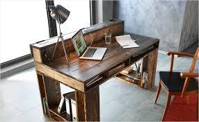 fabrication d un bureau en bois großartig fabriquer bureau un escamotable pc avec palettes gamer tr