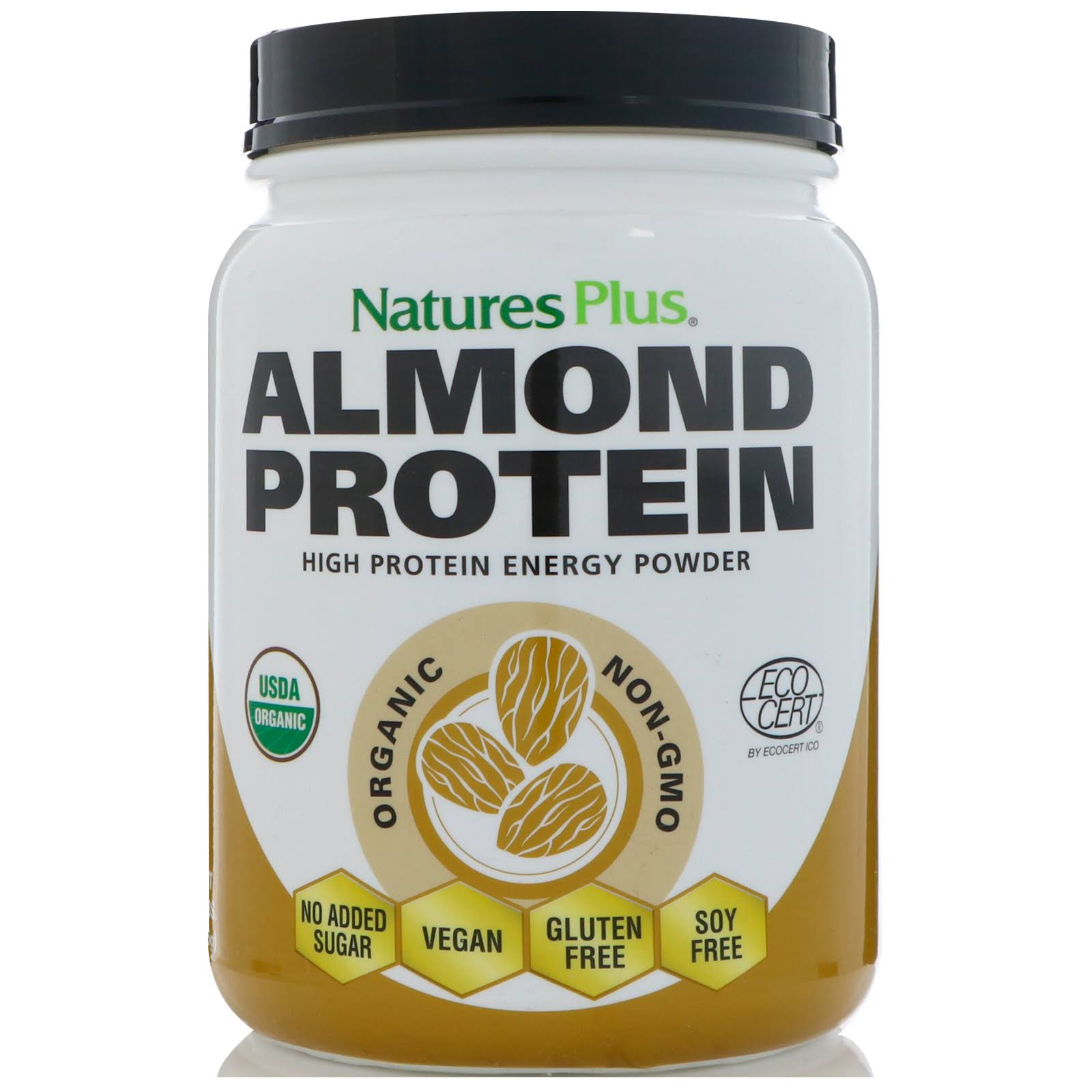 Nature's Plus Almond Protein-1.04 lbs Powder