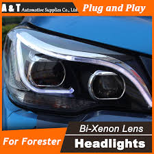 car styling for new forester led headlight 2014 subaru forester
