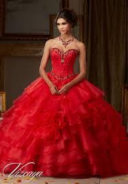 flounced organza quinceañera dress style 89105 morilee
