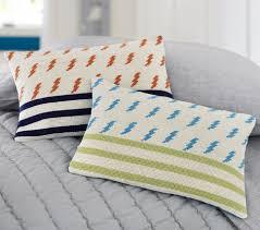Pottery Barn Decorative Pillows by Lightning Bolt Decorative Pillows Pottery Barn Kids