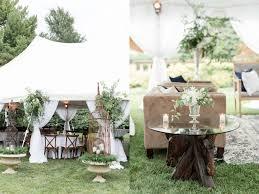 Maison Meredith Photography Blog139 Garden Wedding Reception Tent
