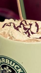 Starbucks Cup White Mocha Coffee Chocolate Syrup Cream Android Wallpaper