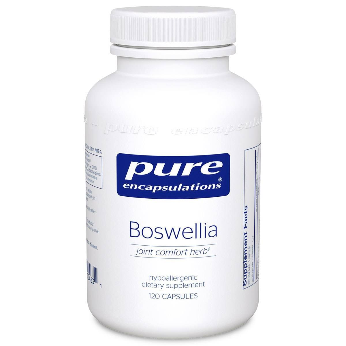 Pure Encapsulations Boswellia Dietary Supplement - 120ct