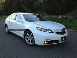 2012 Acura Tl Base Sedan 4 Door 3 5l