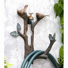 Garden Hose Faucet Extender by Garden Hose Hanger With Faucet Home Outdoor Decoration