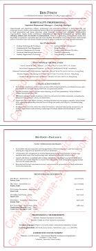 Restaurant Hospitality Manager Resume Example