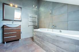 bathroom look bigger with large bathroom tile furniture
